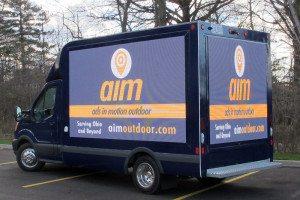 Digital Mobile Billboard Advertising Vehicles Truck