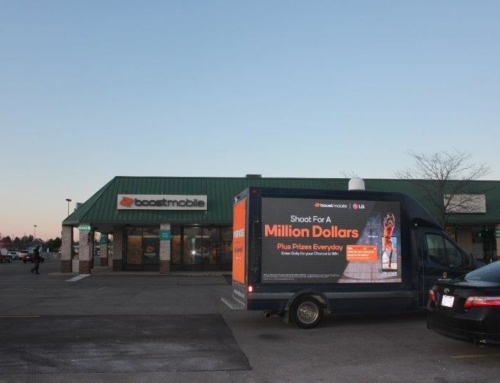 Boost Mobile Shoot For A Million