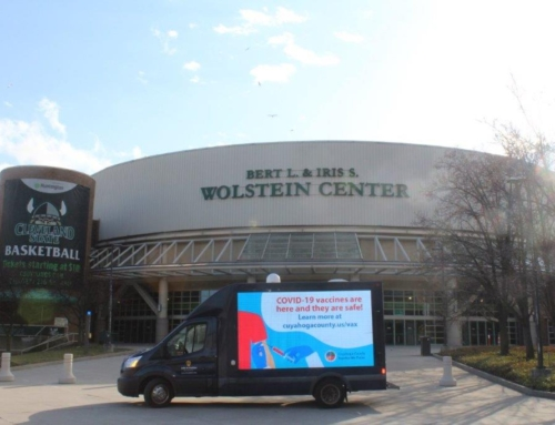 Cuyahoga County Health Department and Wolstein Center
